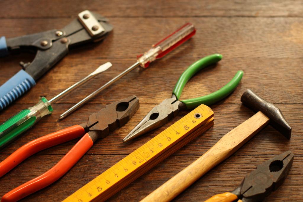 ものづくりの道具