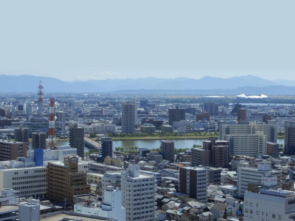 新潟の景色